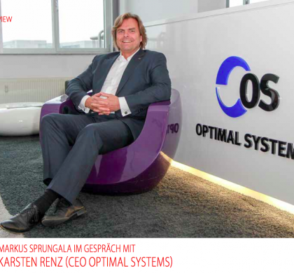 MARKUS SPRUNGALA IM GESPRÄCH MIT KARSTEN RENZ (CEO OPTIMAL SYSTEMS)